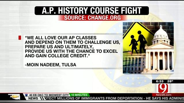 OK Lawmakers Target Advanced Placement History Courses