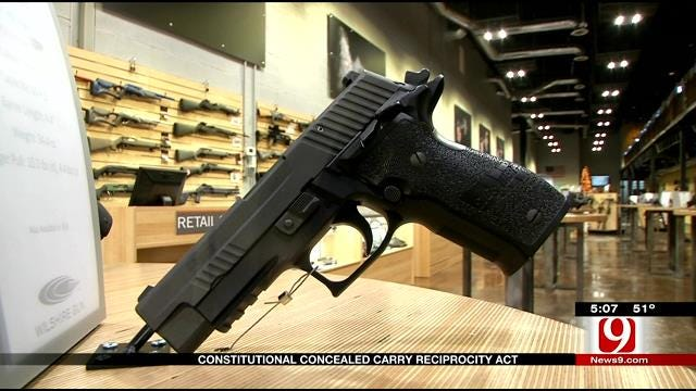 Lawmaker Hopes To Pass Bill For National Concealed Carry Reciprocity