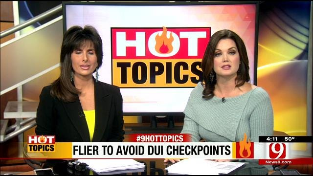 HOT TOPICS: Florida Lawyer Offers Loophole To DUI Checkpoints