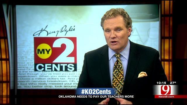 My 2 Cents: Oklahoma Teachers Need A Pay Raise