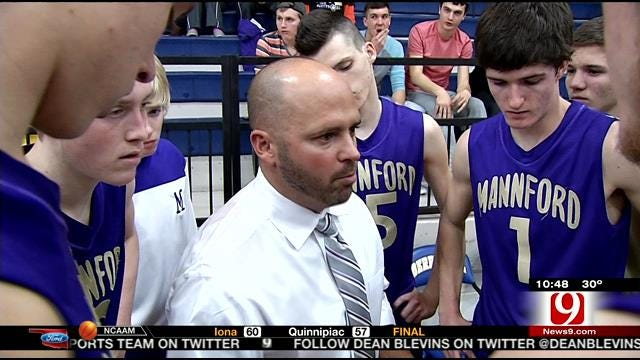 Father-Son Coaching Combo Leading Mannford