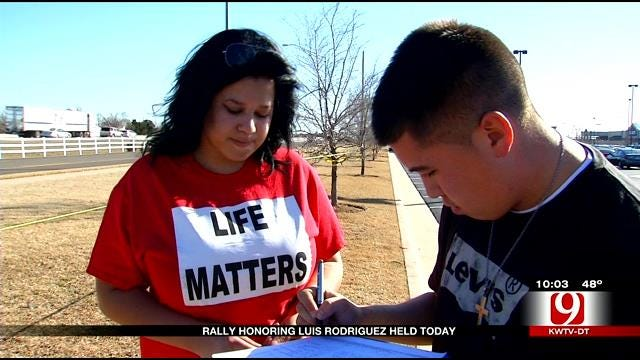 Family Marks One Year Since Luis Rodriguez Died At Theater In Moore