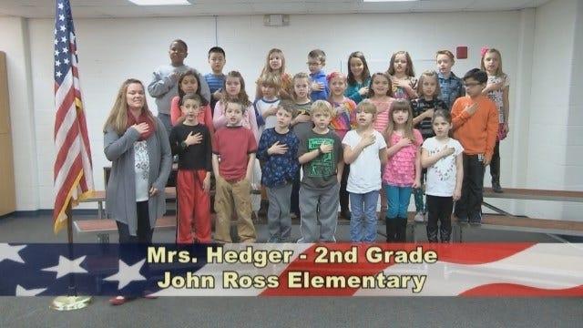 Mrs. Hedger's 2nd Grade Class at John Ross Elementary School