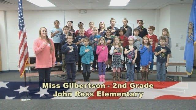 Miss Gilbertson's 2nd Grade Class at John Ross Elementary School