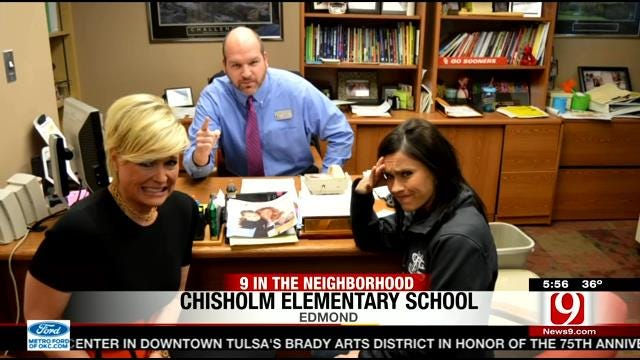 News 9 This Morning Team Visits Chisholm Elementary School