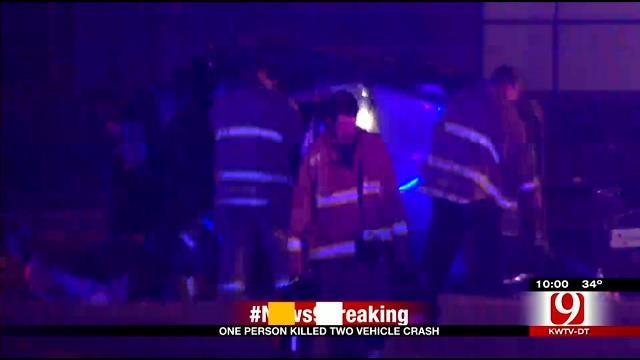 Emergency Crews Respond To Fatal Crash In SW OKC