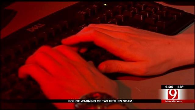 Oklahoma Police Warning Of Tax Return Scam