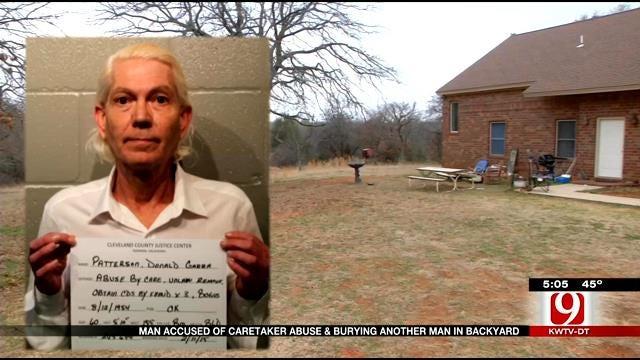 Man Accused Of Caretaker Abuse, Burying Another Man In Backyard