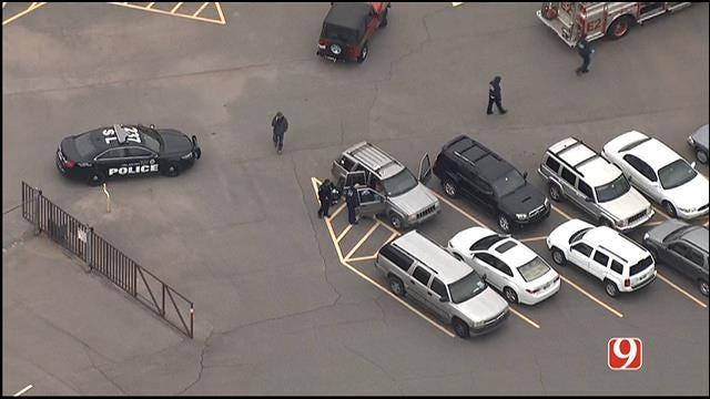 WEB EXTRA: SkyNews 9 Flies Over Shooting Investigation In NE OKC
