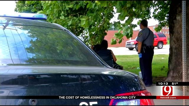 OKC Police On Mission To Help Homeless