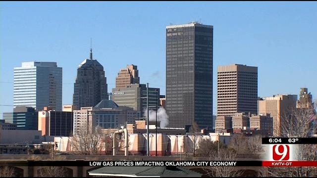 Economist Predicts OKC's Future With Lagging Oil & Gas Prices