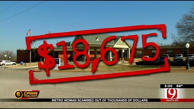 Elderly Metro Woman Scammed Out Of Thousands Of Dollars