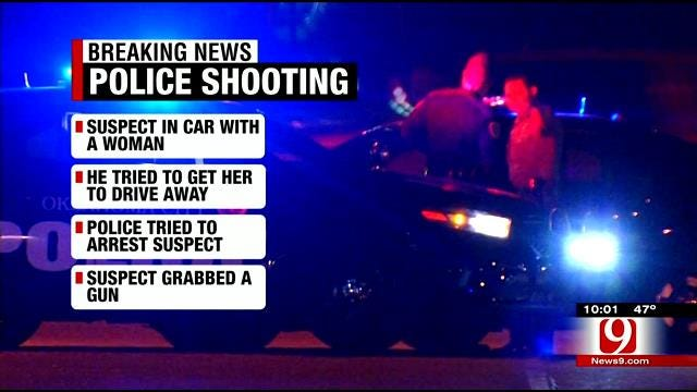 OCPD: Officer Shot In The Leg, Suspect Shot And Killed In SW OKC