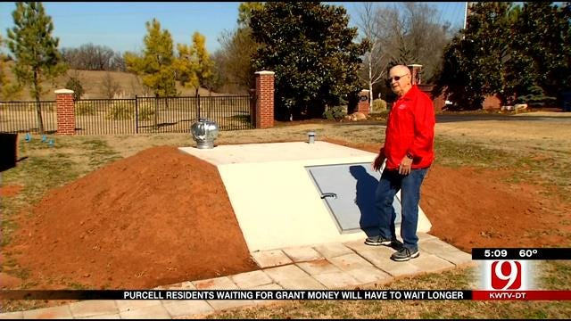 Storm Shelter Grant Money On Hold For Purcell Residents