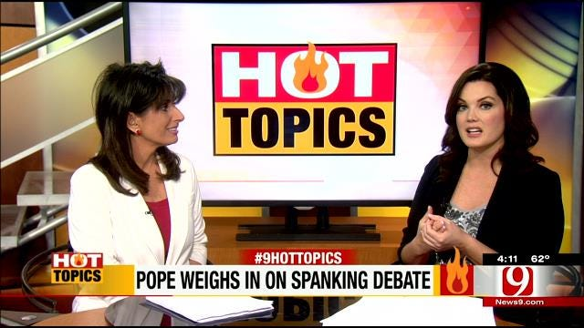 HOT TOPICS: Pope Weighs In On Spanking Debate