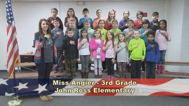 Ms. Angier's 3rd Grade Class At John Ross Elementary School
