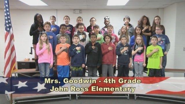Mrs. Goodwin's 4th Grade Class At John Ross Elementary School