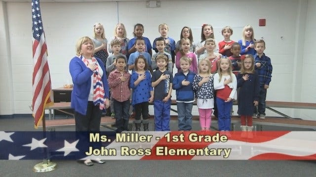 Ms. Miller's 1st Grade Class At John Ross Elementary School