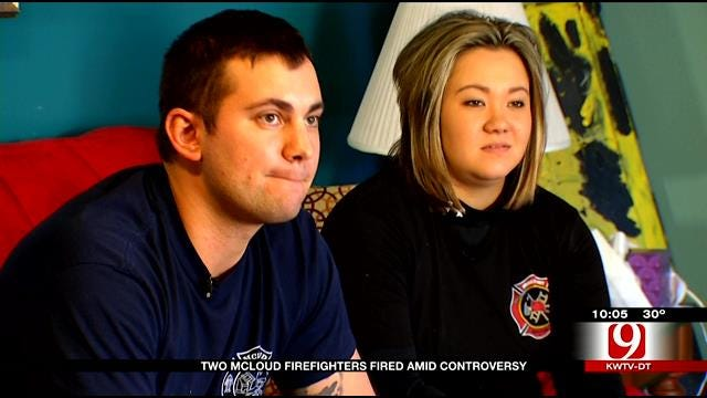 Two McLoud Firefighters Fired Amid Controversy