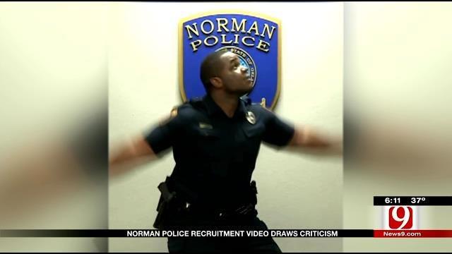 Norman Police Recruitment Video Receives Backlash