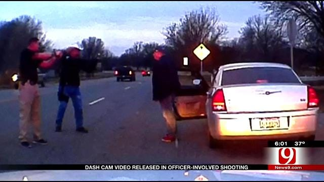GRAPHIC: Dash Cam Video Released In Officer-Involved Shooting