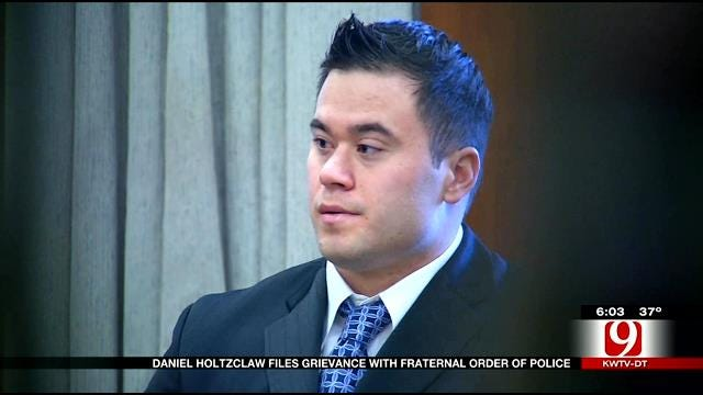 Daniel Holtzclaw Files Grievance With Fraternal Order Of Police