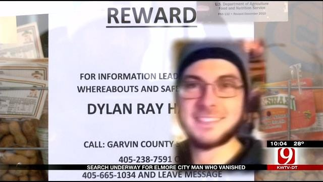 Search Underway For Missing Elmore City Man