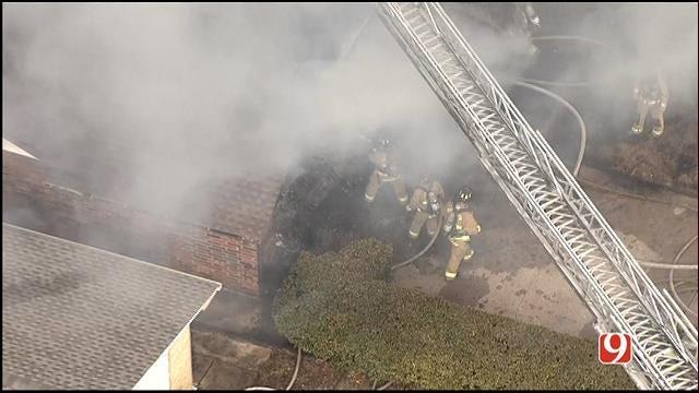 WEB EXTRA: NW OKC House Fire