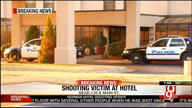 Police Investigate After Shooting Victim Found Inside Norman Hotel