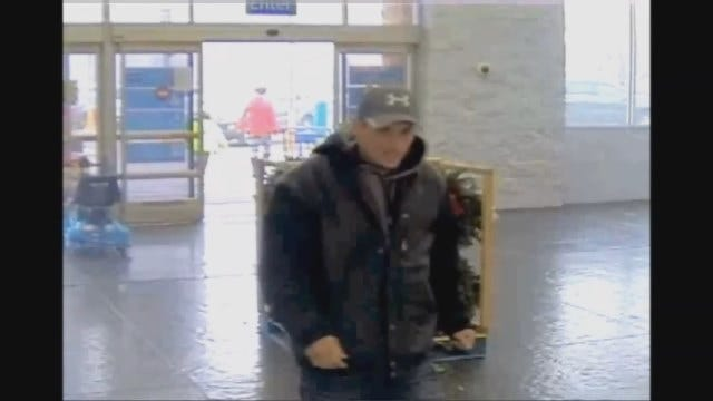 WEB EXTRA: OKC Police Release Video Of Suspect Who Used Stolen Credit Cards