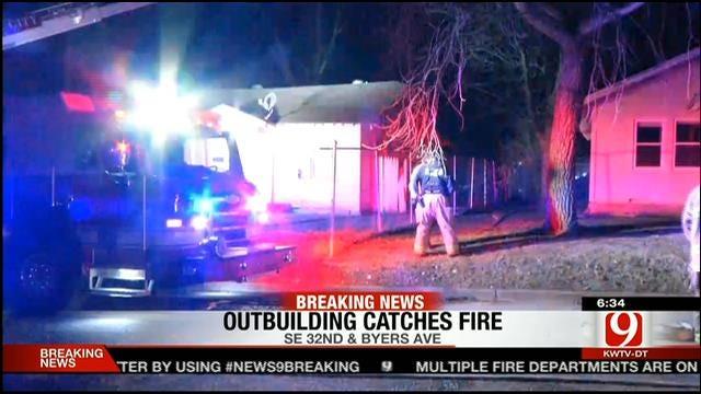 Authorities Investigate Multiple Fires In OKC Metro Overnight