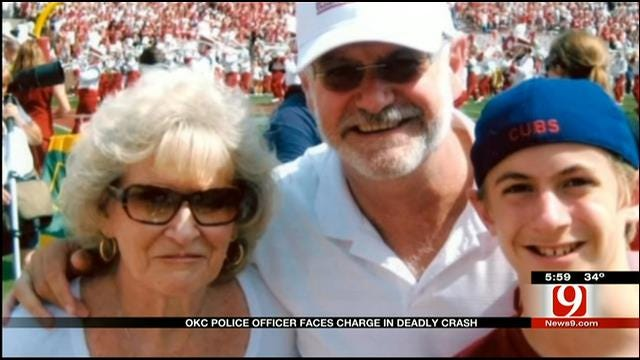 Crash Victim's Family Responds To Charges Against OCPD Officer