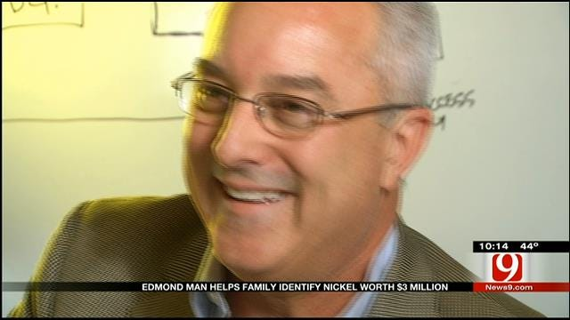 Edmond Coin Expert Helps Family Find A Nickel Worth Millions