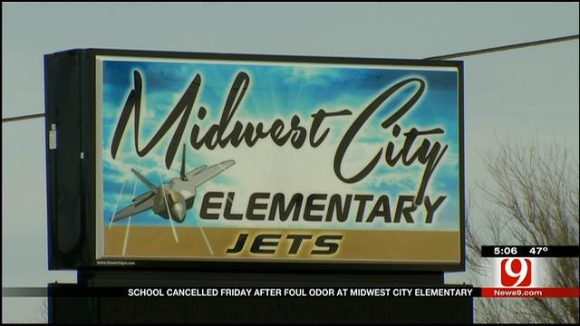 School Canceled Friday After Foul Odor At Midwest City Elementary