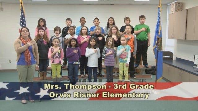 Mrs. Thompson's 3rd Grade class at Orvis Risner Elementary School