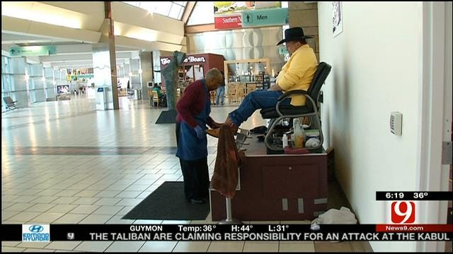 OKC Shoe Shiner Inspires Us To Live Our Best Life