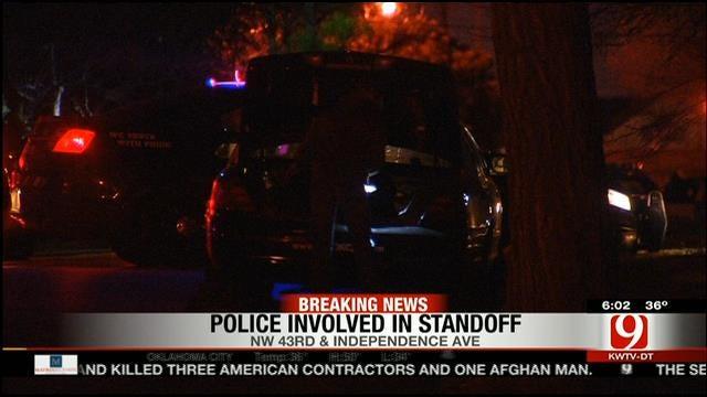 Man Upset With Ferguson, Missouri Surrenders To OKC Police After Standoff