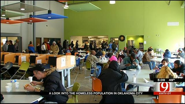 OKC Counts Its Homeless Population One-By-One