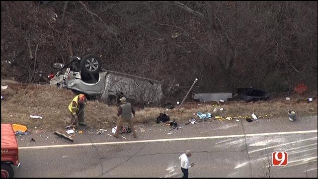 WEB EXTRA: Emergency Crews Respond To Accident Involving Box Truck
