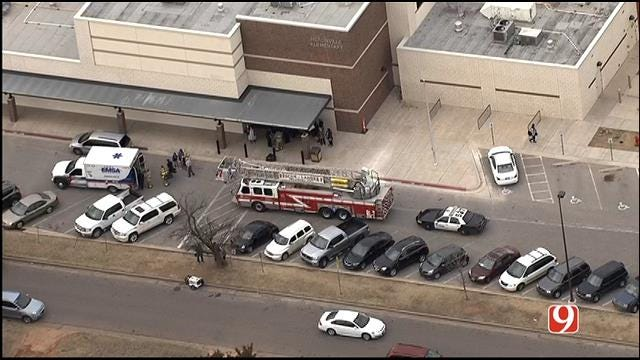 WEB EXTRA: SkyNews 9 Flies Over Auto-Ped At SW OKC School