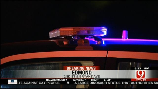 Edmond Police: High-Speed Chase Ends In Crash, Arrest Of Suspect