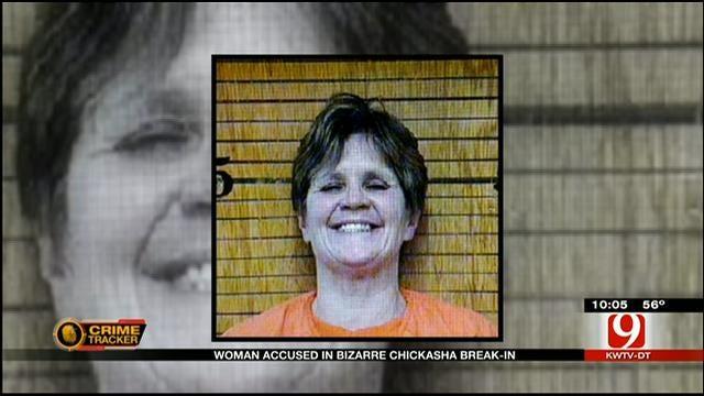 Woman Arrested In Bizarre RV Break-In