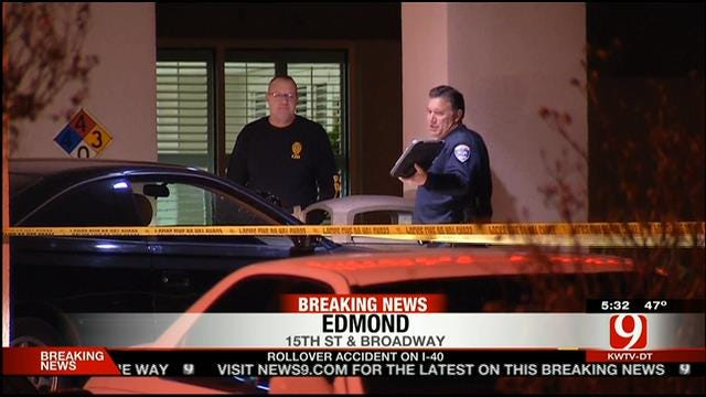 Shooting Suspect Arrested Following High Speed Chase In Edmond