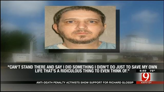 Anti-Death Penalty Activists Support Richard Glossip In OKC