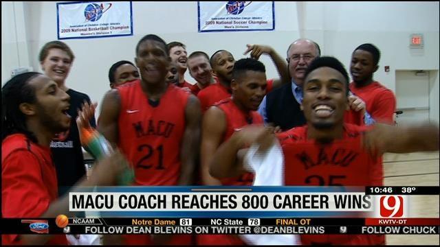 MACU Coach Wins 800th Game