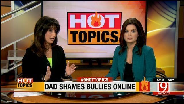 HOT TOPIC: Dad Shames Bullies Online