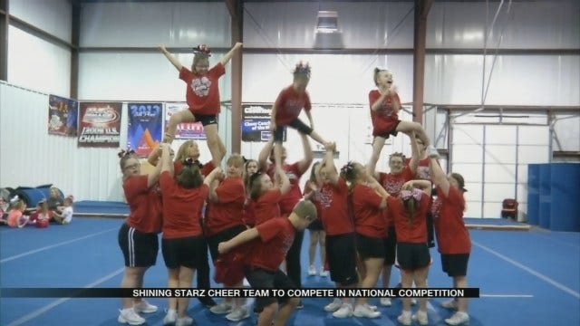 Shining Starz Cheer Team To Compete In National Competition