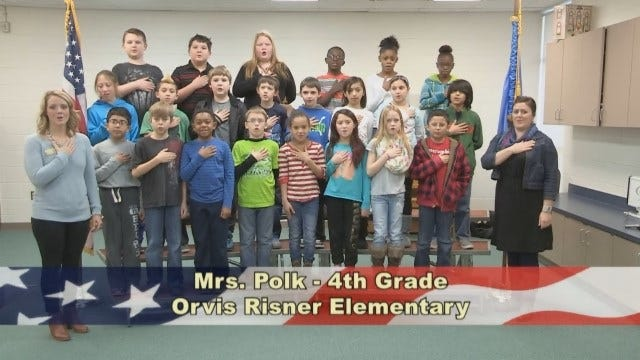Mrs. Polk's 4th Grade Class At Orvis Risner Elementary