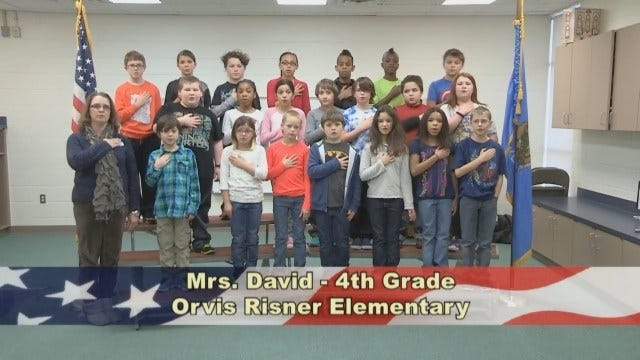 Mrs. David's 4th Grade Class At Orvis Risner Elementary