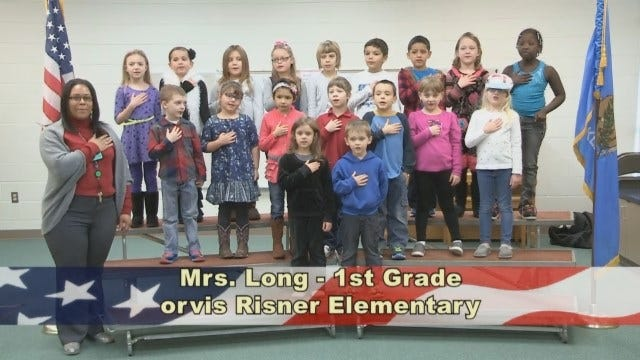 Mrs. Long's 1st Grade Class At Orvis Risner Elementary